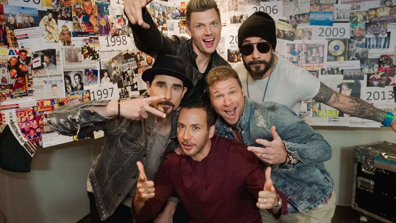 (v.l.n.r.) Kevin Richardson; Howie Dorough; Nick Carter; Brian Littrell; Alexander James McLean - Bildquelle: ProSieben