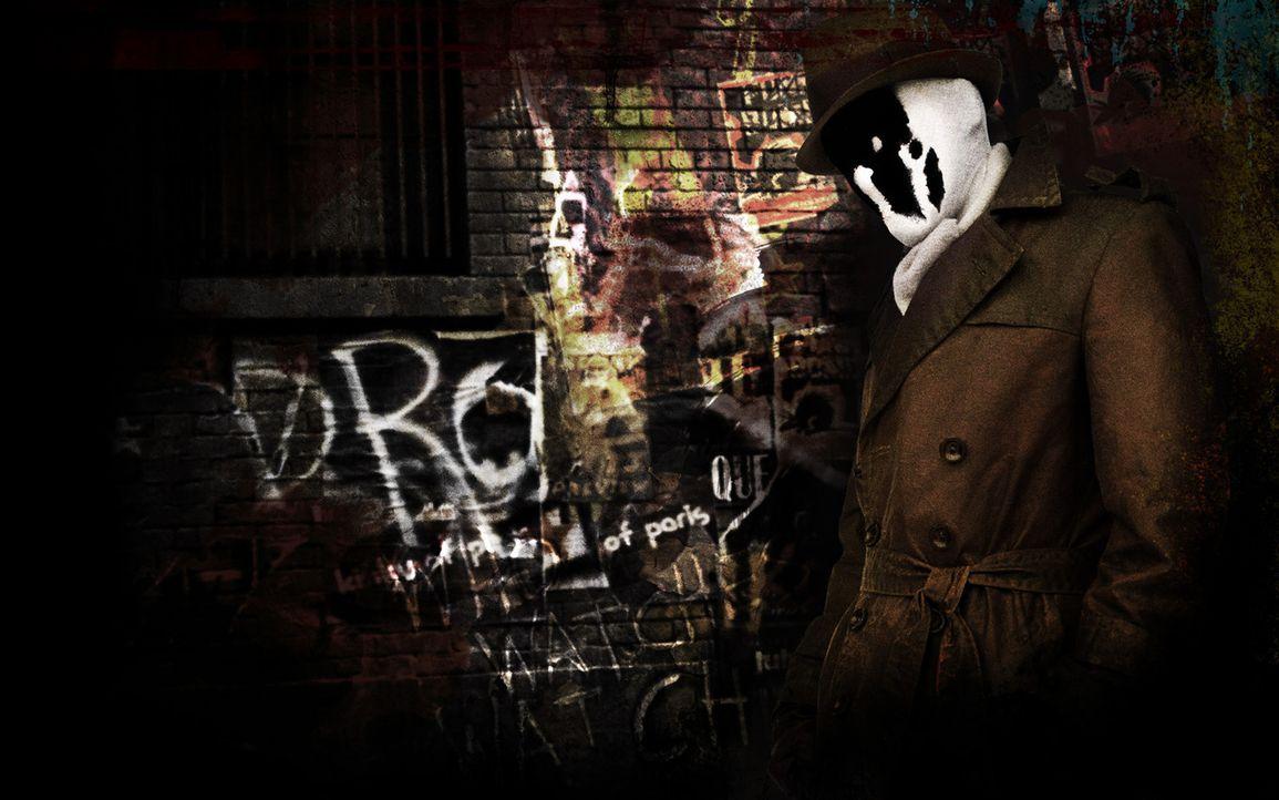 Als dem von Gerechtigkeit besessenen Rorschach (Jackie Earle Haley) klar wird, dass The Comedian nicht Opfer eines Raubmordes, sondern eiskalt ermor... - Bildquelle: Paramount Pictures