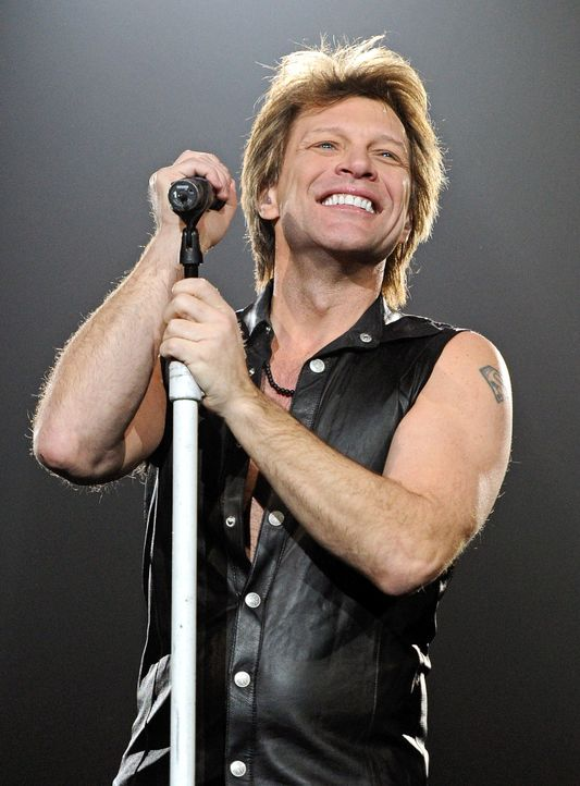 Platz 3: Bon Jovi - Bildquelle: Ethan/Miller/Getty/Images/north/america/AFP