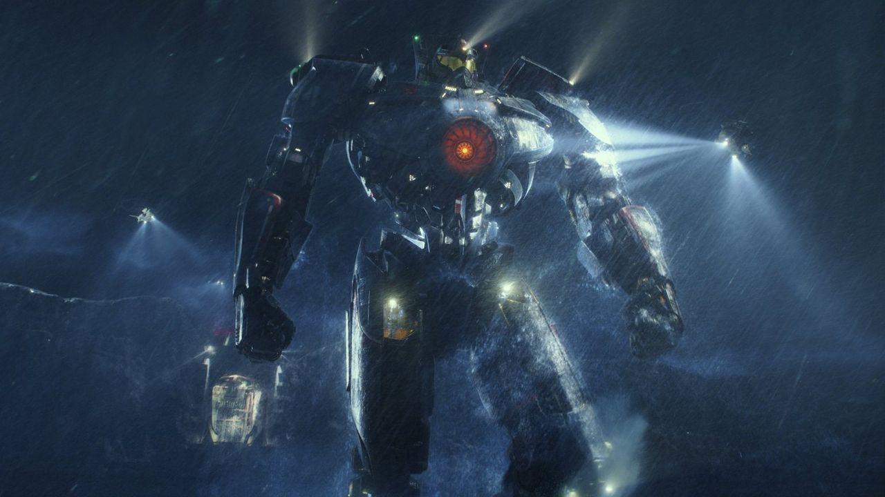 Als die Erde von riesigen, außerirdischen Monstern, den Kaijus, angegriffen wird, gibt die Menschheit nicht auf, sondern schlägt zurück. Humanoide K... - Bildquelle: 2013 Warner Bros. Entertainment Inc. and Legendary Pictures Funding, LLC