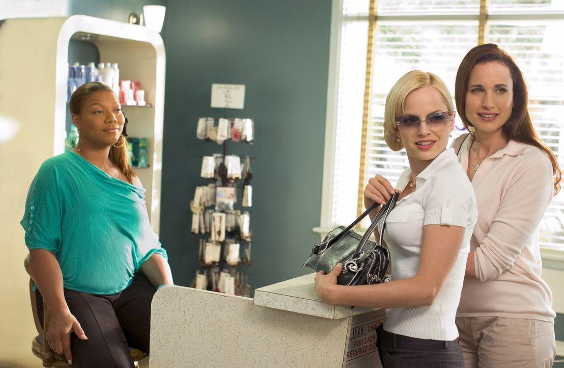 Unterstützung für ihr Projekt, einen eigenen Beauty Shop zu eröffnen bekommt Gina Norris (Queen Latifah, l.) unter anderem von Joanne (Mena Suvar... - Bildquelle: 2005 METRO-GOLDWYN-MAYER PICTURES INC. ALL RIGHTS RESERVED.