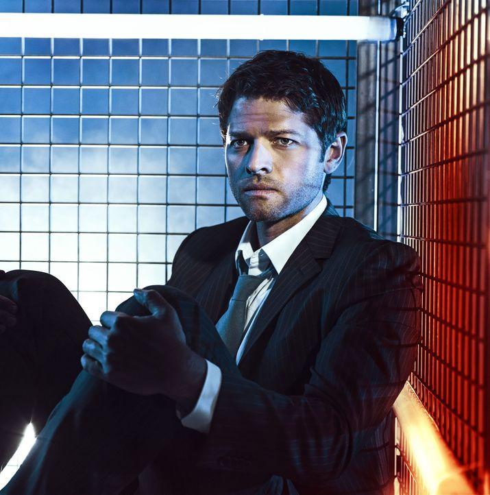 (9. Staffel) - Castiel (Misha Collins) versucht, sich als normaler Mensch zurecht zu finden, bis sich ihm eine Chance bietet, wieder der Alte zu wer... - Bildquelle: 2013 Warner Brothers