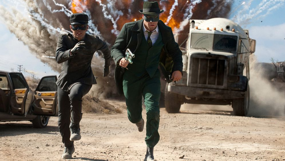 The Green Hornet - Bildquelle: Motion Picture   2011 Columbia Pictures Industries, Inc. All Rights Reserved.