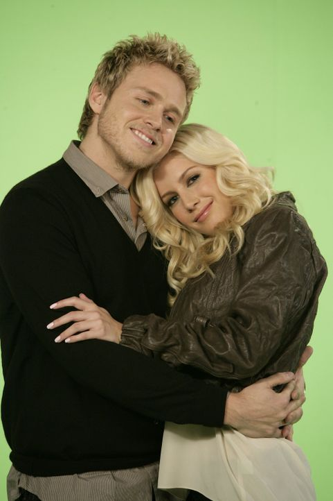 "Bei den Dreharbeiten zu ""How I Met Your Mother"": Spencer Pratt (l.) und Heidi Montag in (r.) - Bildquelle: 20th Century Fox International Television"