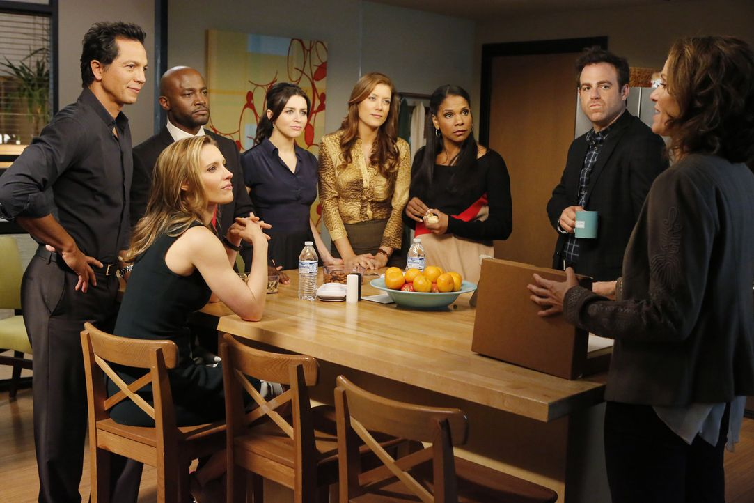 Wie wird es mit (v.l.n.r.) Jake (Benjamin Bratt), Sam (Taye Diggs), Charlotte (KaDee Strickland), Amelia (Caterina Scorsone), Addison (Kate Walsh),... - Bildquelle: ABC Studios