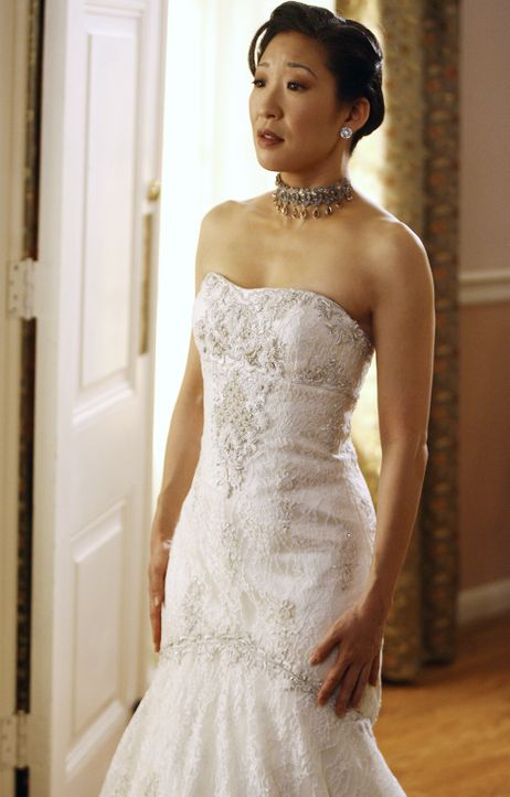 Ihr großer Tag steht bevor: Cristina (Sandra Oh) ... - Bildquelle: Scott Garfield 2007 American Broadcasting Companies, Inc. All rights reserved. NO ARCHIVE. NO RESALE.