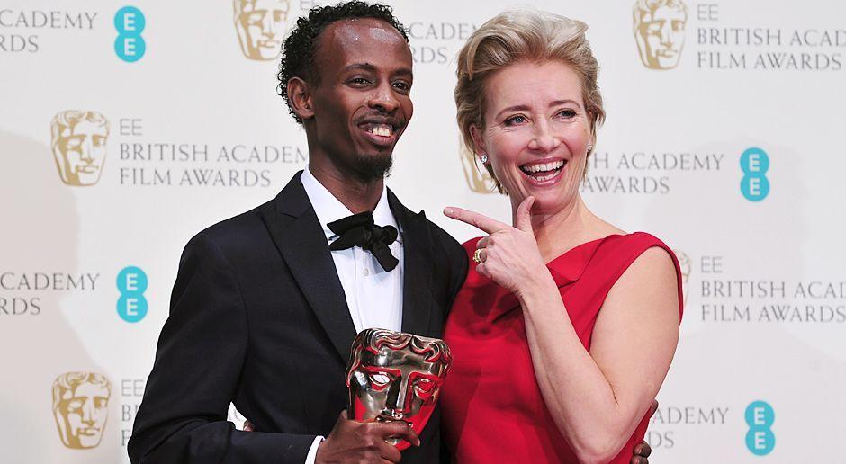 BAFTA-Barkhad-Abdi-Emma-Thompson-14-02-16-AFP - Bildquelle: AFP