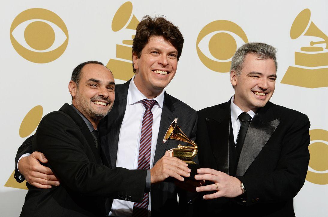 Grammy-Awards-Fabio-Torress-Edu-Ribeiro-Paulo-Paulelli-14-01-26-AFP - Bildquelle: AFP