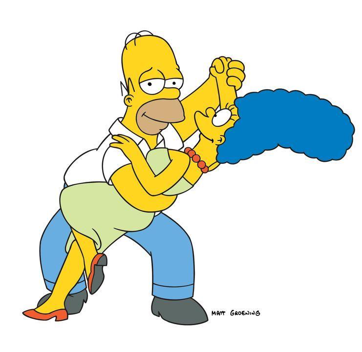 (18. Staffel) - Ein Tänzchen in Ehren, kann niemand verwehren: Homer (l.) und Marge Simpson (r.) ... - Bildquelle: und TM Twentieth Century Fox Film Corporation - Alle Rechte vorbehalten