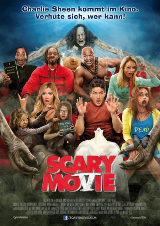 SCARY MOVIE 5 - Plakatmotiv - Bildquelle: 2013 Constantin Film Verleih GmbH.