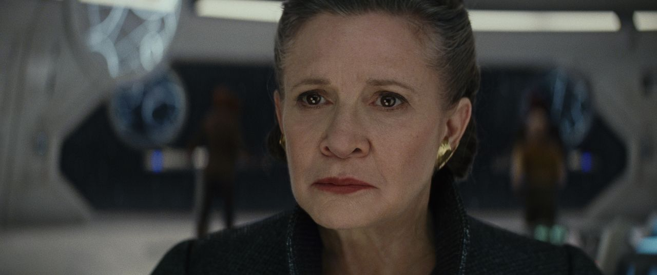 General Leia Organa (Carrie Fisher) - Bildquelle: 2017 & TM Lucasfilm Ltd.