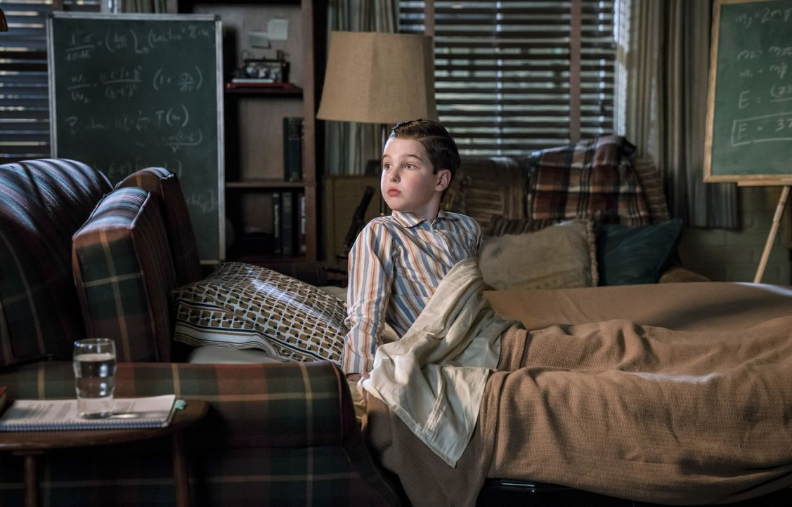 Sheldon Cooper (Iain Armitage) - Bildquelle: Michael Desmond 2018 WBEI. All rights reserved. / Michael Desmond