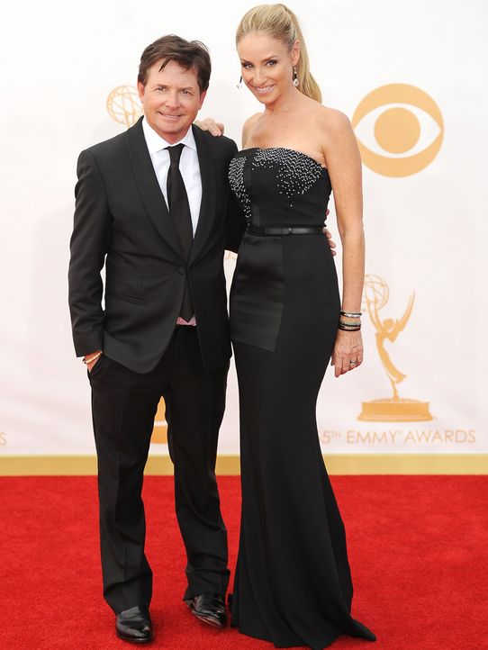 Emmy-Awards-Michael-J-Fox-Tracy-Pollan-13-09-22-AFP - Bildquelle: AFP