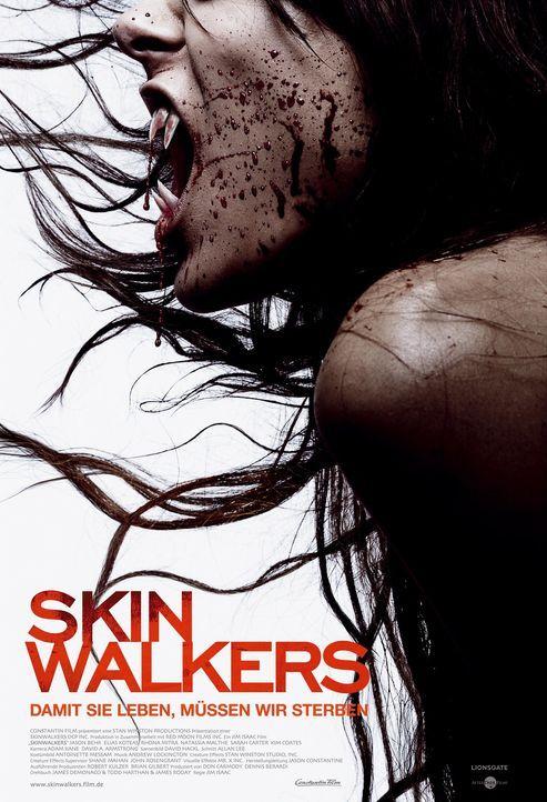 Skinwalkers - Plakatmotiv - Bildquelle: Constantin Film Verleih GmbH