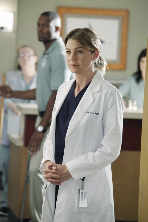 Rückblende: Meredith (Ellen Pompeo) versucht mit den seelischen des Flugzeugabsturzes fertigzuwerden ... - Bildquelle: ABC Studios