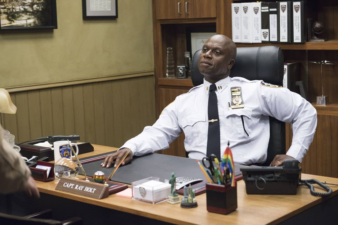 Captain Ray Holt (Andre Braugher) - Bildquelle: Erica Parise 2014 UNIVERSAL TELEVISION LLC. All rights reserved / Erica Parise