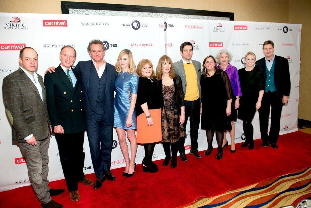 Downton-Abbey-Cast-141208-getty-AFP-Kopie - Bildquelle: getty-AFP