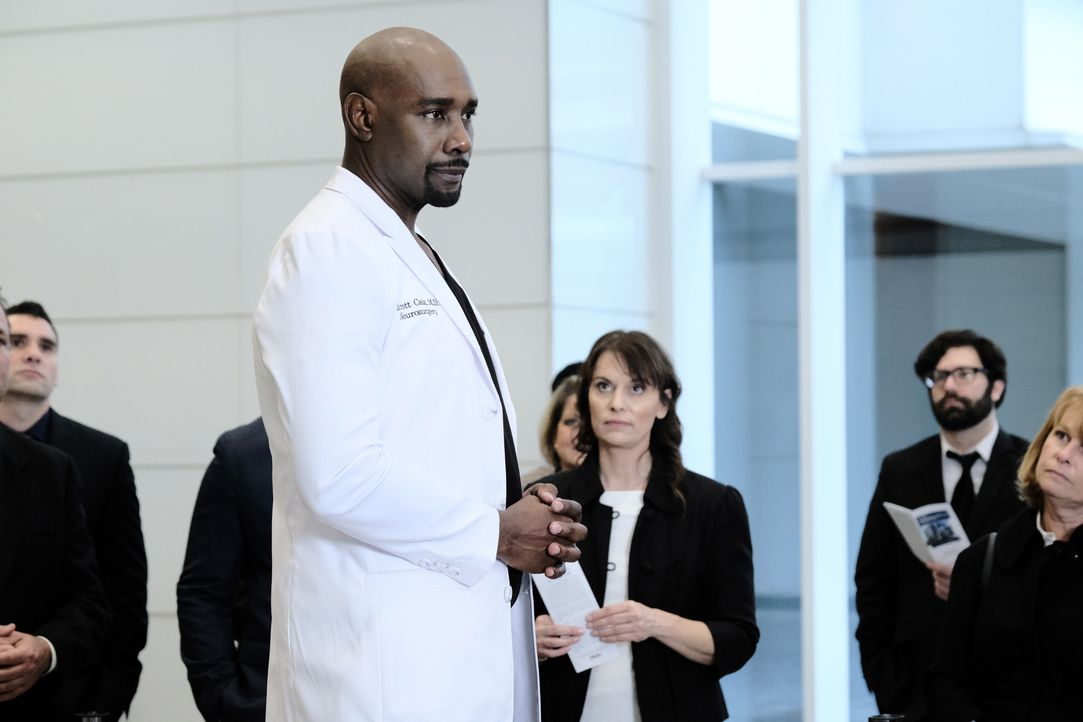 Dr. Barrett Cain (Morris Chestnut) - Bildquelle: Guy D'Alema 2019-2020 Twentieth Century Fox Film Corporation.  All rights reserved. / Guy D'Alema