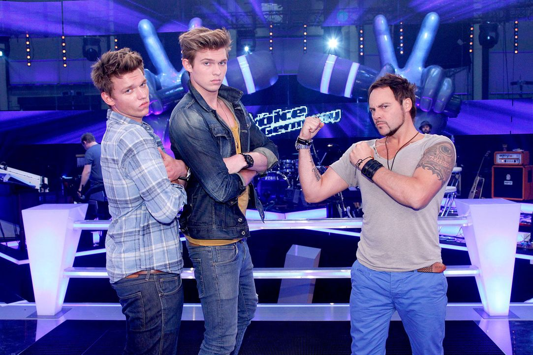 battle-rob-brueder-hain-03-the-voice-of-germany-richard-huebnerjpg 1700 x 1133 - Bildquelle: SAT.1/ProSieben/Richard Hübner
