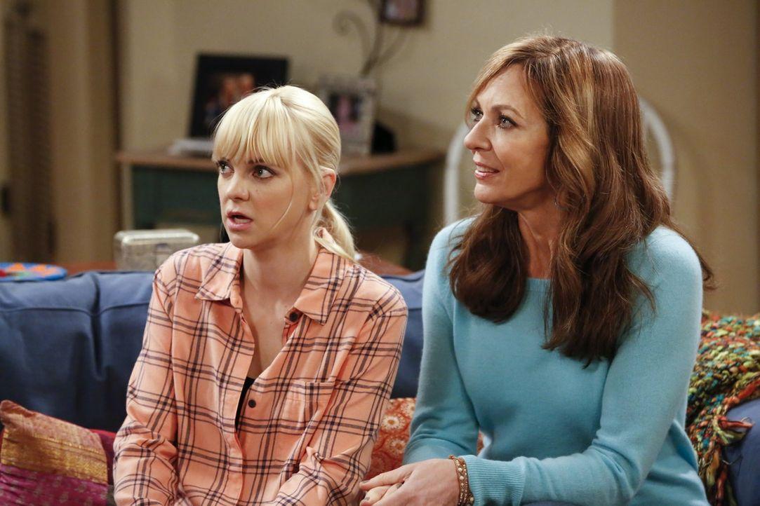 Sind geschockt über Violets Geständnis: Bonnie (Allison Janney, r.) und Christy (Anna Faris, l.) ... - Bildquelle: Warner Bros. Television