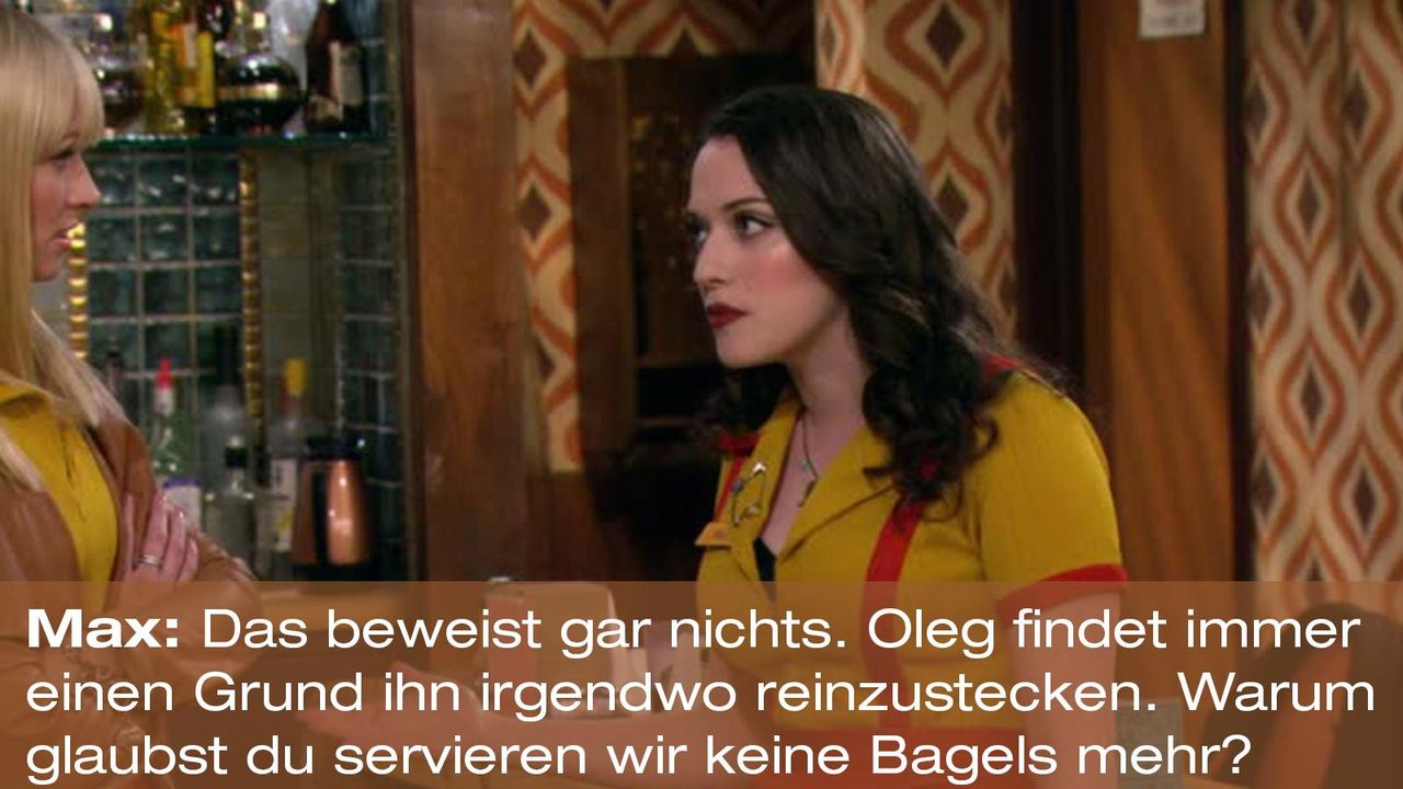 2-broke-girls-zitat-quote-staffel2-episode7-candy-andy-dandy-max-bagels-warnerpng 1600 x 900 - Bildquelle: Warner Brothers Entertainment Inc.