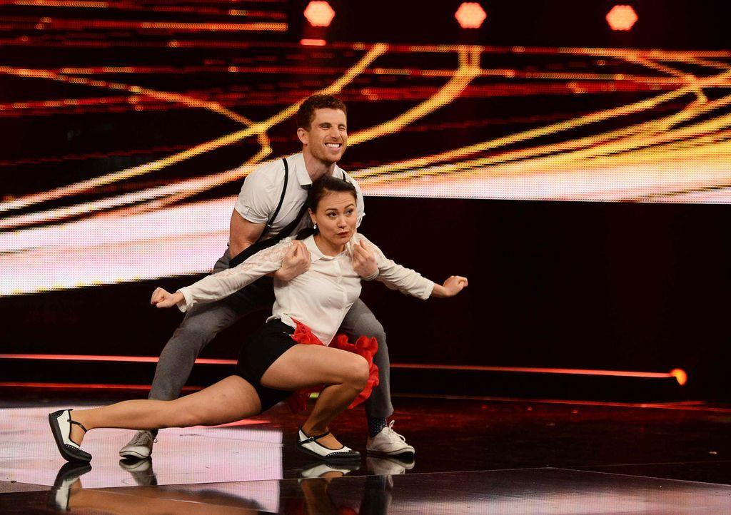 Got-To-Dance-Daniel-und-Claire-04-SAT1-ProSieben-Willi-Weber - Bildquelle: SAT.1/ProSieben/Willi Weber